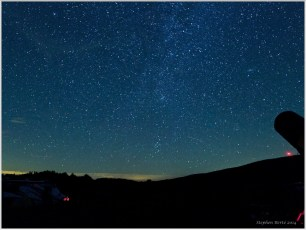 Almost Heaven Star Party 2014 - NE Sky (Perseus and Cassiopeia)