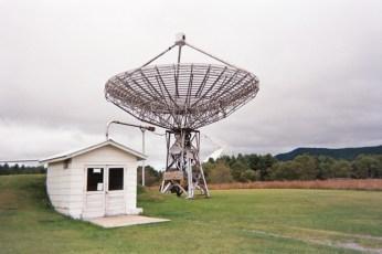 Training radio telescope