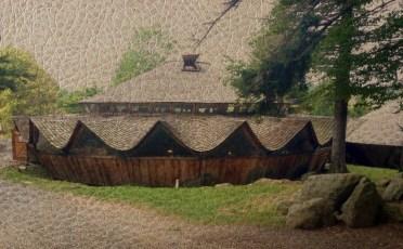 Nature_Landscape_Yurt_on_Leather