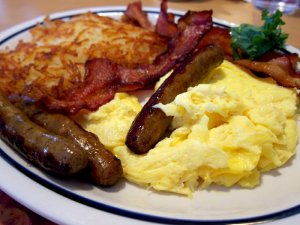 Breakfast @ Kitchen Yurt and Patio   Circleville   West Virginia   United States