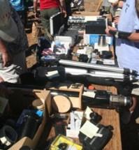 Swap Table @ Yurt Deck
