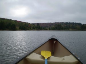 Canoeing @ Yurt Deck | Circleville | West Virginia | United States