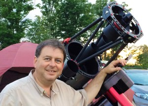 "Friday Night: ""Embedded imaging: The future of astrophotography"" @ Main Yurt & Tent 
