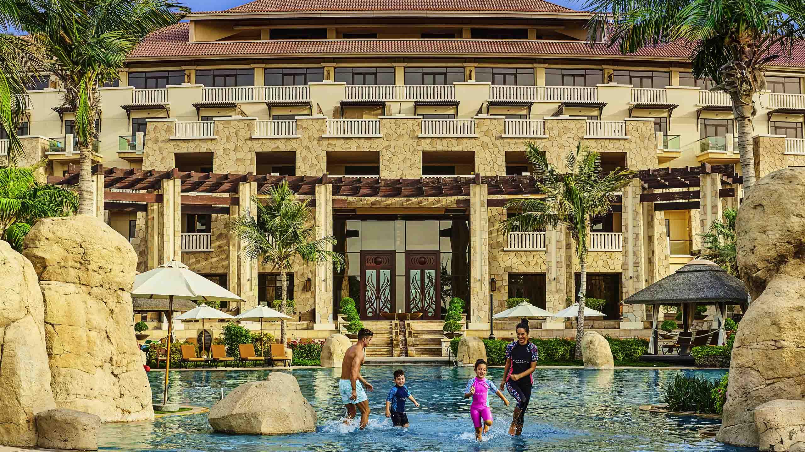 Luxury Hotel DUBAI Sofitel Dubai The Palm Resort Amp Spa