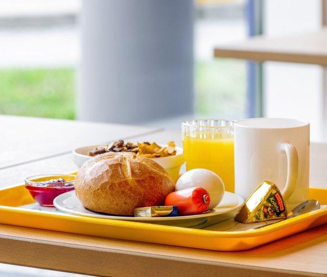 Breakfast Ibis Budget Agadir