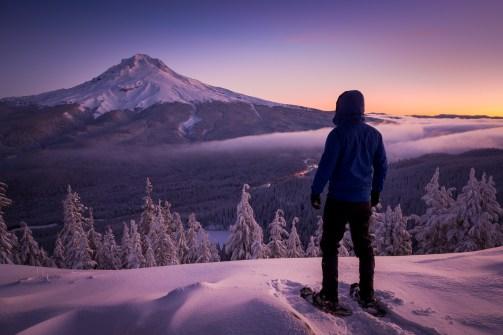 Selfie met Mount Hood - Foto door Joost Daniels