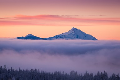 Mount Jefferson - Foto door Joost Daniels