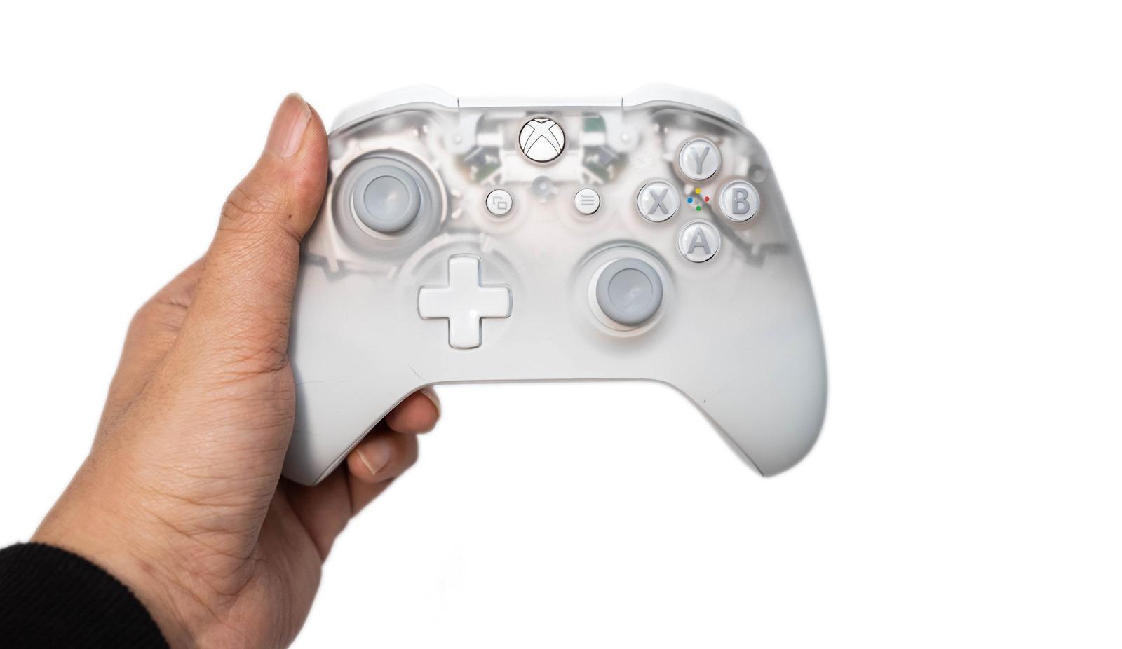 性感!若隱若現的 Xbox Phantom 白色特別版控制器開箱分享 @3C 達人廖阿輝