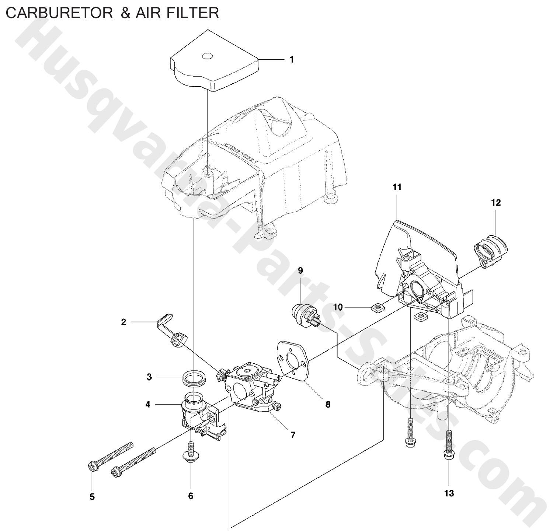 327he3 Husqvarna Trimmer Amp Edger Hedge Trimmers Carburetor