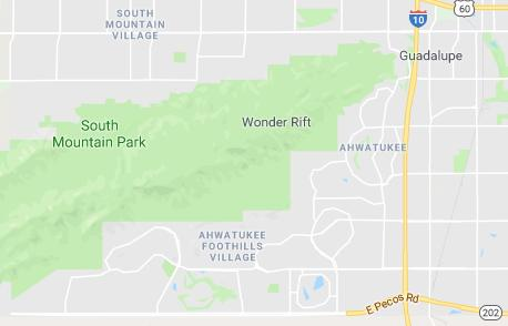 Ahwatukee Map