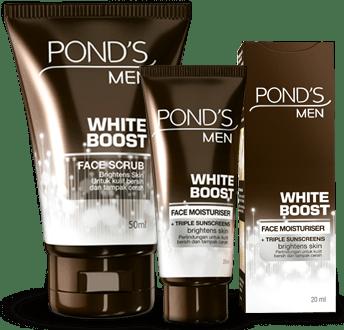 manfaat ponds men produk pemutih pria whiteboost