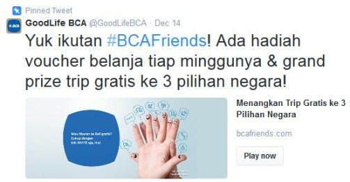 BCA GoodLifeBCA Twitter