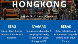 BCAFriends trip ke hongkong