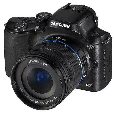 samsung nx20 camera dslr EV-NX20ZZBSBGB