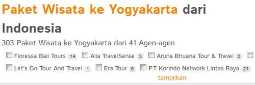 Paket Tour di Yogyakarta Paket Wisata dari Yogyakarta