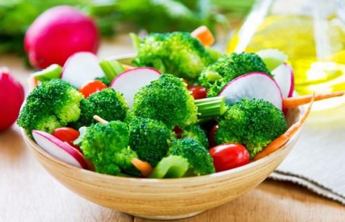 Brokoli salah satu makanan rendah kalori