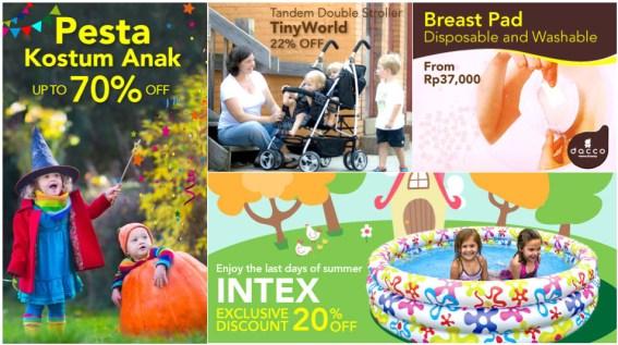 Jual Perlengkapan Ibu Bayi Baru Lahir dan Anak Murah Terbaik
