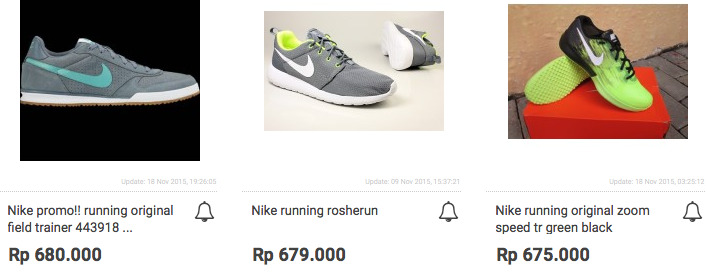 Harga Sepatu Nike Running Asli