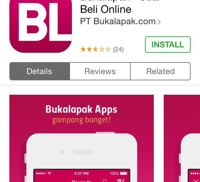 IMG_7243 Apps BukaLapak di App Store – Install
