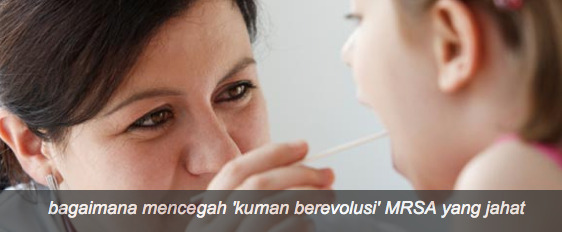 Tips Melawan Kuman MRSA