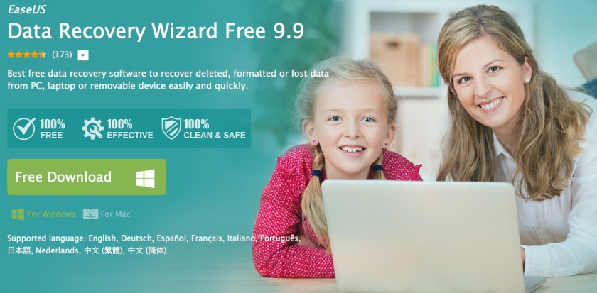 Free Data Recovery Software Download to Recover Deleted Files - EaseUS Data Recovery Wizard Free Edition