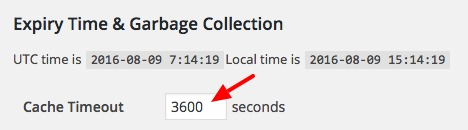 Expiry Time Garbage WP Super Cache