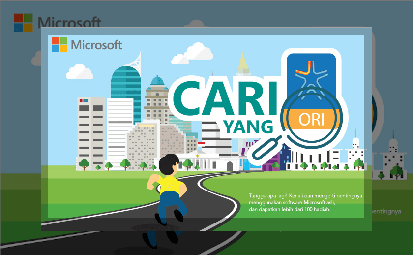 software asli ori