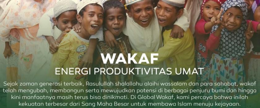 Wakaf Energi Produktivitas Umat