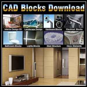 Super Autocad Mixed Blocks