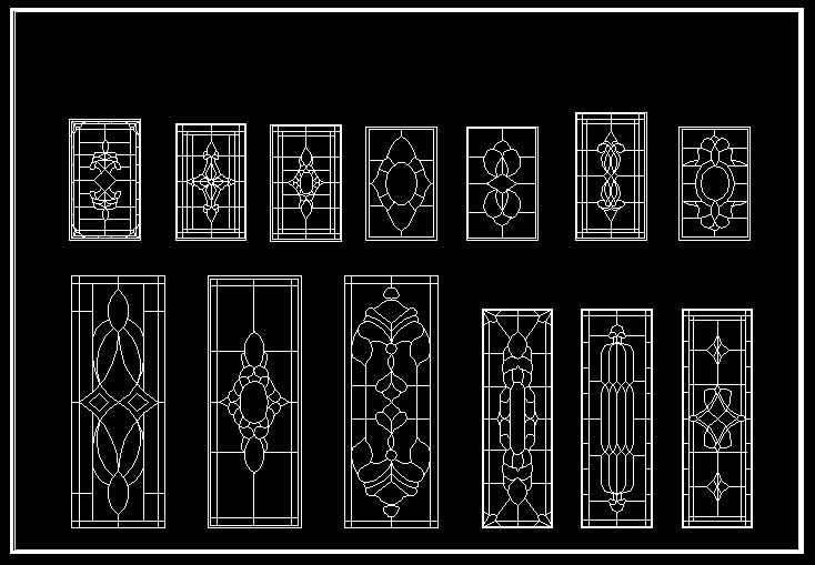 European Classical Elements Blocks Architectural CAD