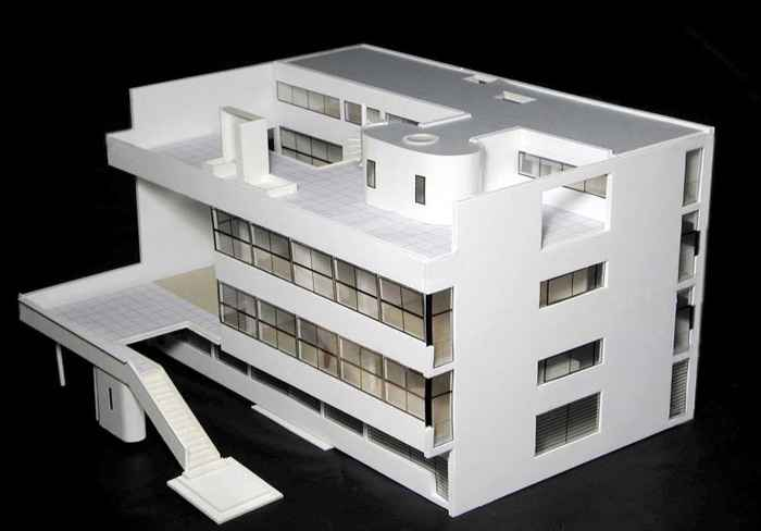 Le Corbusier Villa Stein Architectural Autocad Drawings