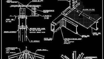 Free Steel Structure Details 2 – Architectural Autocad