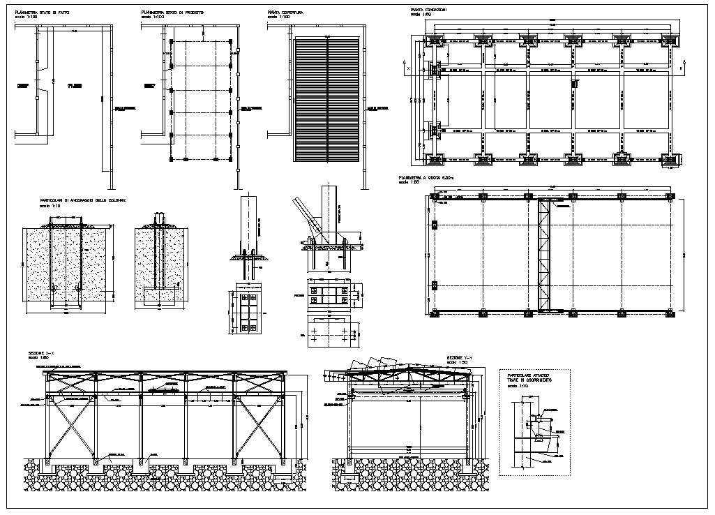 Foundation Details Dwg Free Download