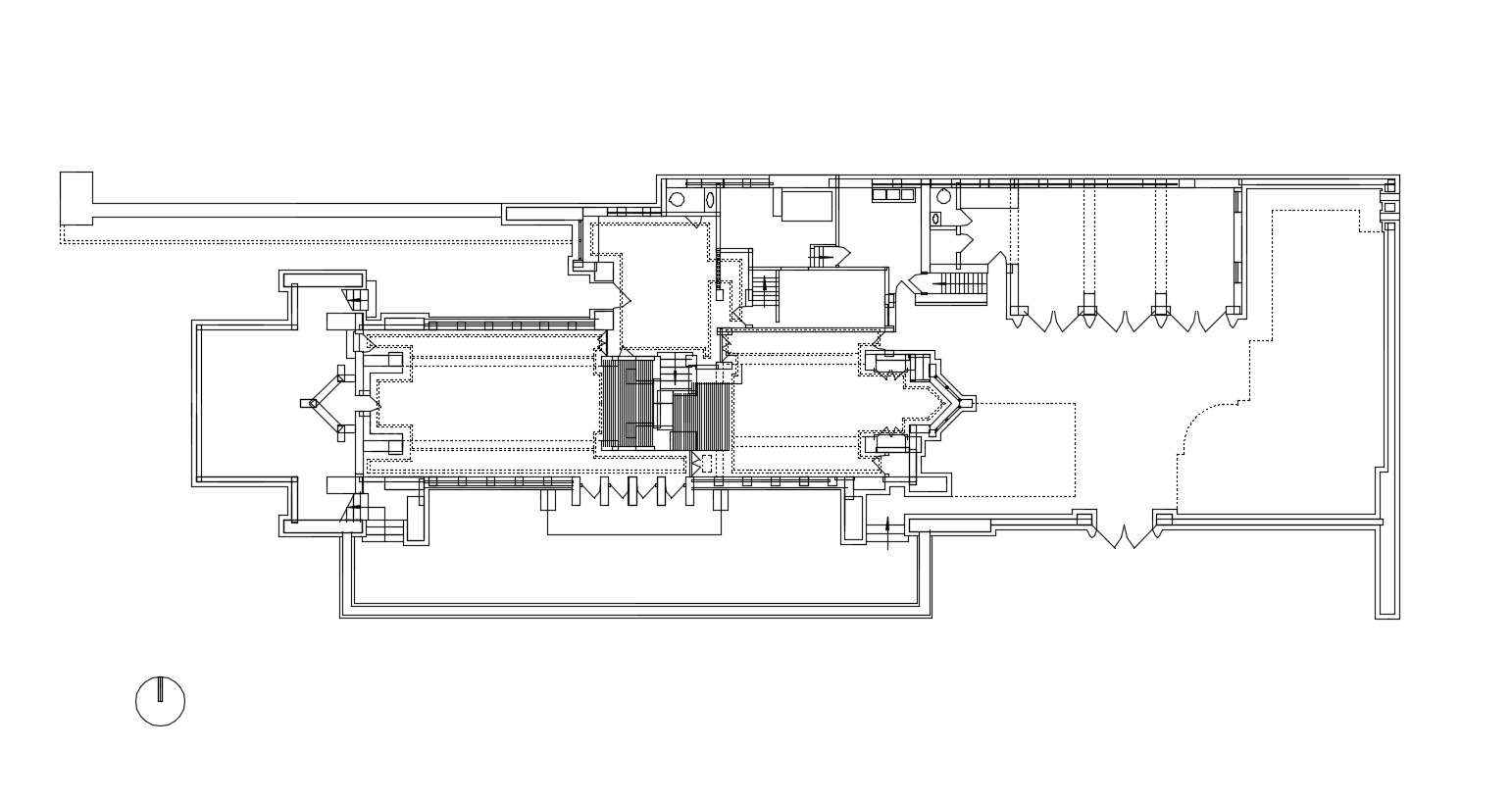 Frank lloyd wright robie house posted by cad blocks 🔍 1 99