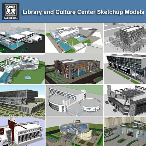Home Design Software Sketchup: 【Download 15 Library Sketchup 3D Models】 (Recommanded