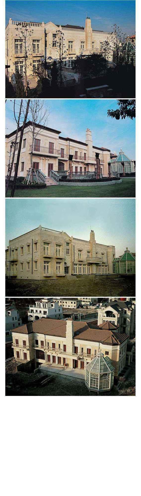 ★【Villa CAD Design,Details Project V.7-British George Style】Chateau,Manor,Mansion,Villa@Autocad Blocks,Drawings,CAD Details,Elevation