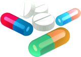 dietary supplements illustration