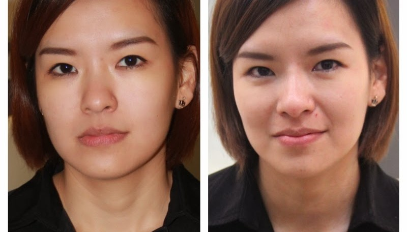 woman face transformation