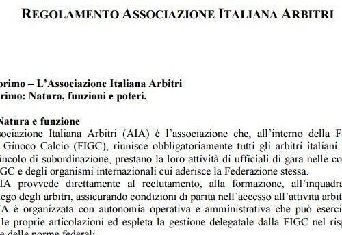 regolamento-associazione-italiana-arbitri