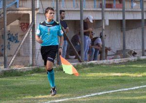 Valerio Iaboni durante una gara