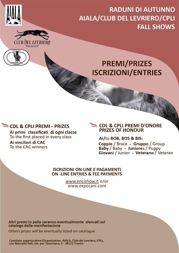 Expocani Calendario.Programma Raduni D Autunno 2019 Lago Di Corbara Tr