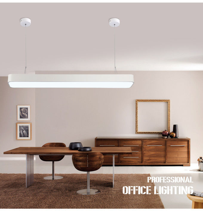 1200mm contemporary interior round angle commercial office 36w led pendant lighting