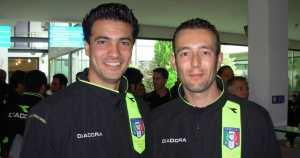 Sergio Scali, a destra.