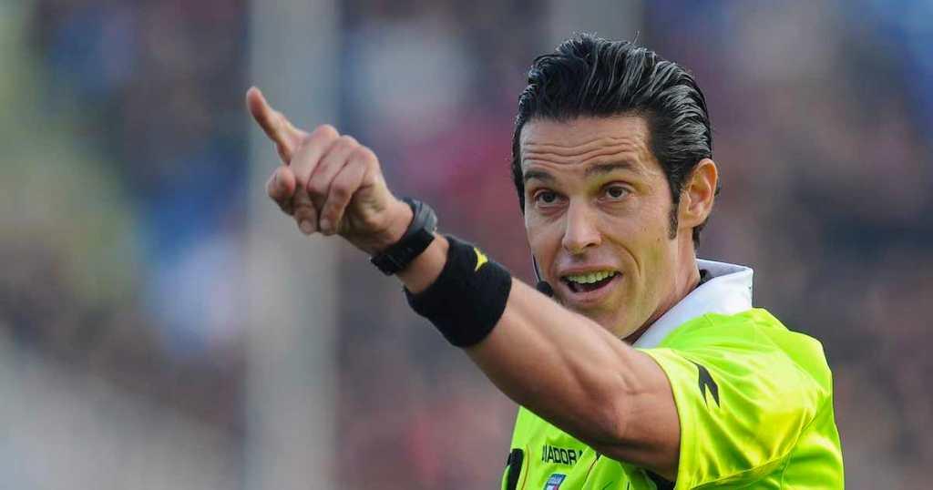 Andrea De Marco, arbitro.