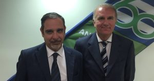 Giuseppe Puddu e Guido Falca.