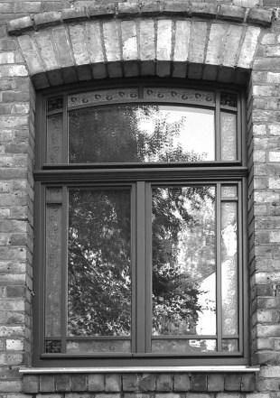 Detail Fenster Viktor-Scheffel-Straße 13