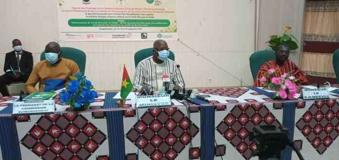 Troisième dialogue structuré national sur le Fonds vert pour le climat : Gouvernement burkinabè  et