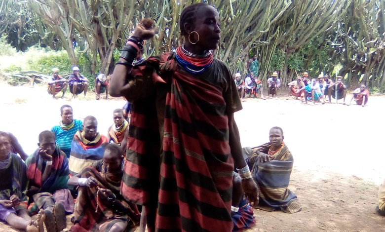 Photo of Women in Karamoja Use Red Pepper for Preventing Spread of COVID-19