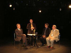 Od lewej: Andrzej Żurowski, Tomasz Miłkowski, Mirosław Kocur i Janusz Degler