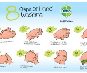 8 Langkah Cara Mencuci Tangan yang Baik dan Benar